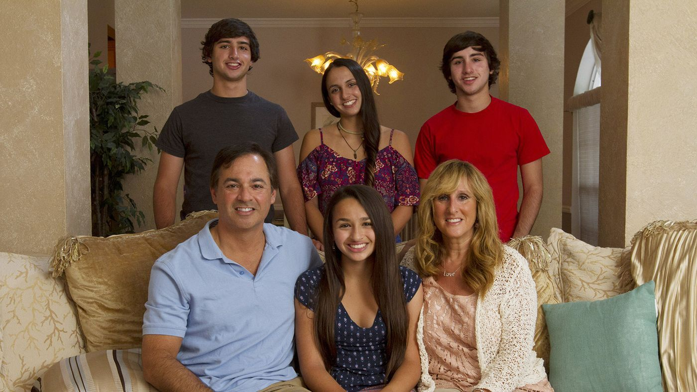 Jazz Jennings and her family