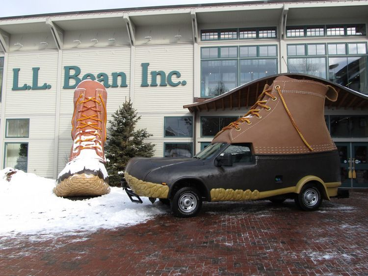 Outside L.L. Bean Inc.