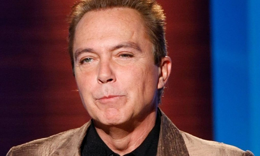 David Cassidy looking annoyed