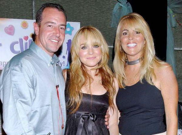 Lindsay Lohan parents