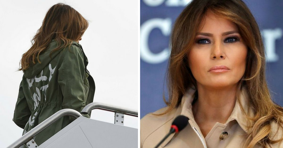 The Jacket Melania Trump Wore While Visiting Migrant Children Has People Furious