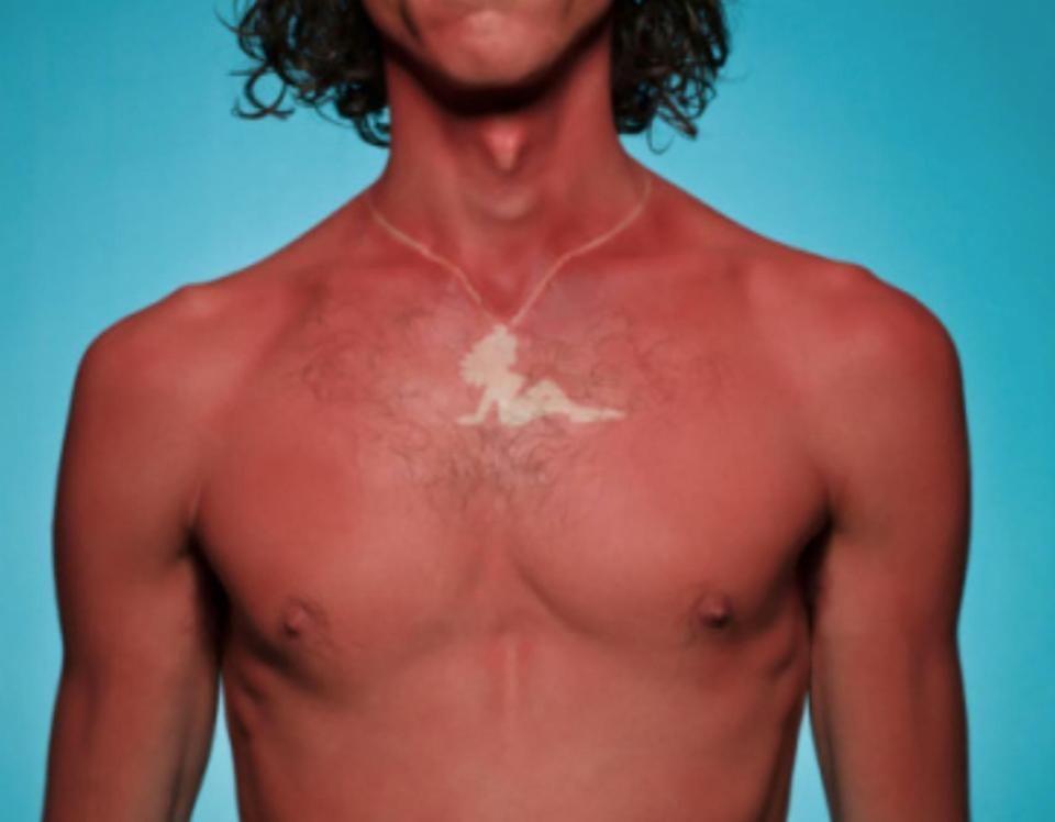 A sun burn of a necklace