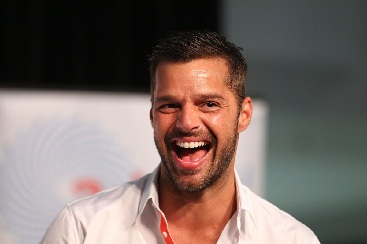 Headshot of Ricky Martin