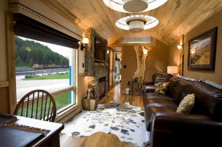 Abandoned Vintage Train Car Gets Transformed Into A Perfect Tiny Cabin