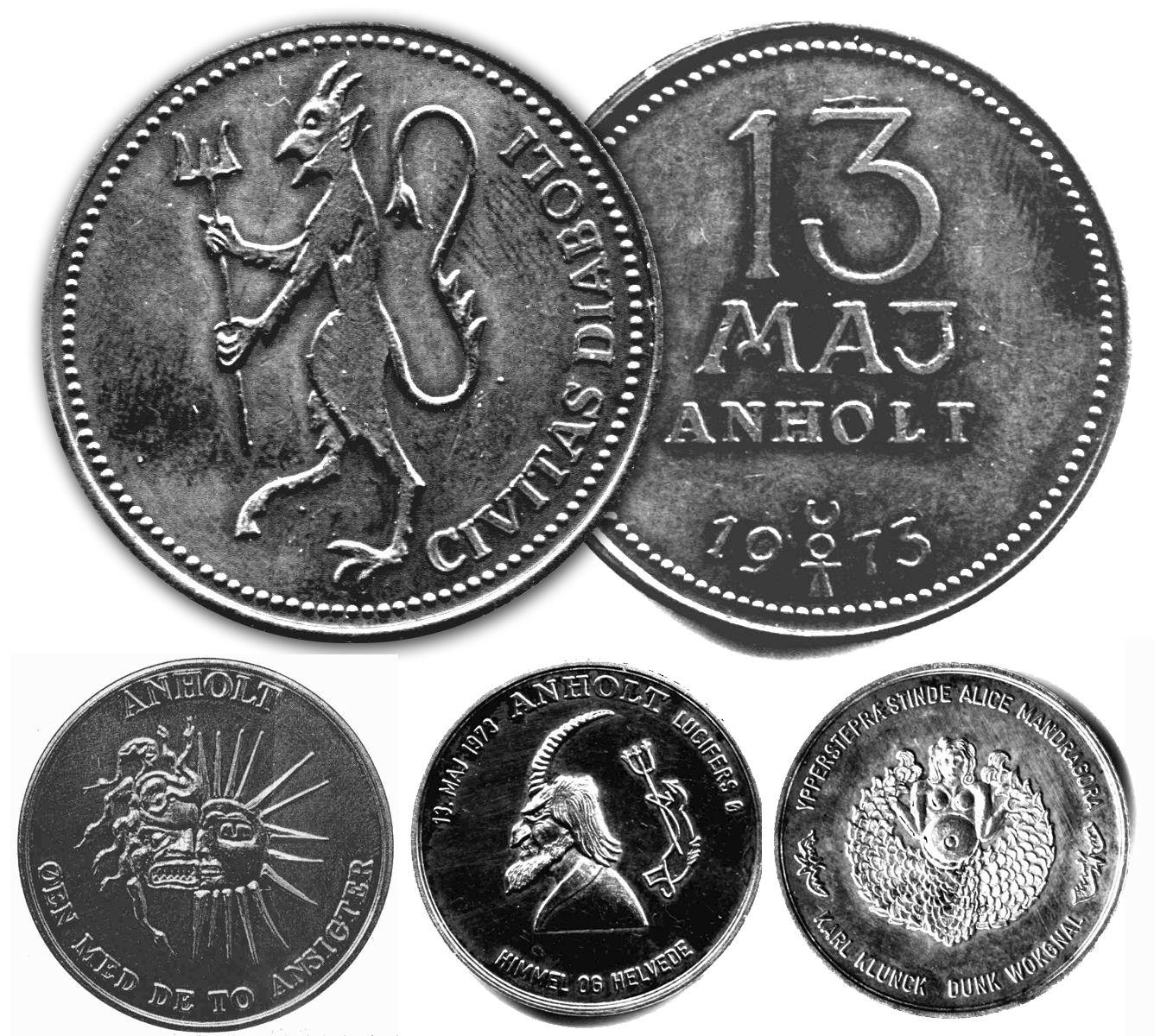 Anholt cult Coins