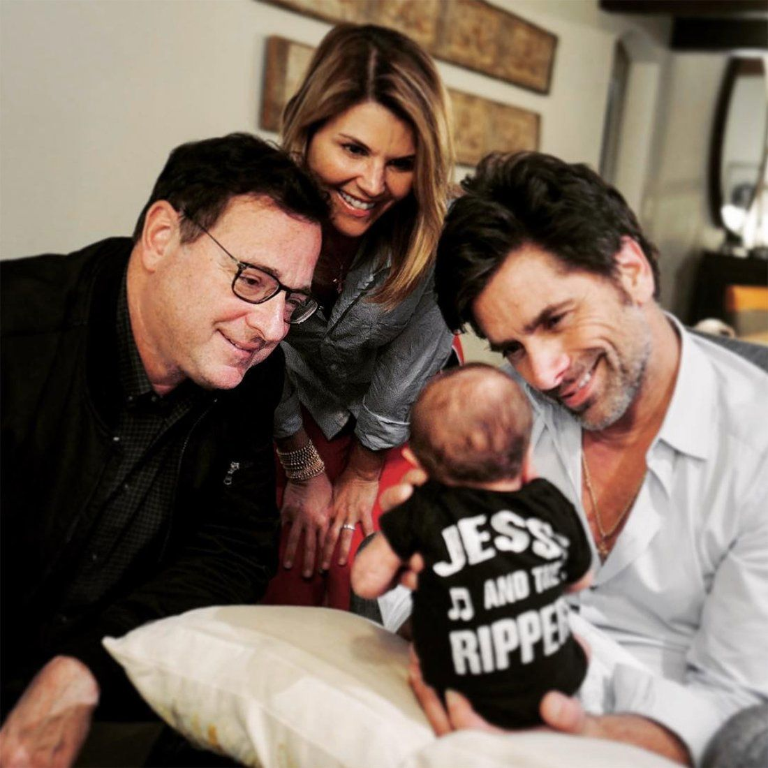 John Stamos, Billy and his costars