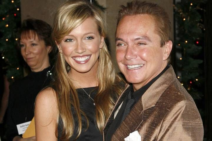 Katie and David Cassidy posing for a picture