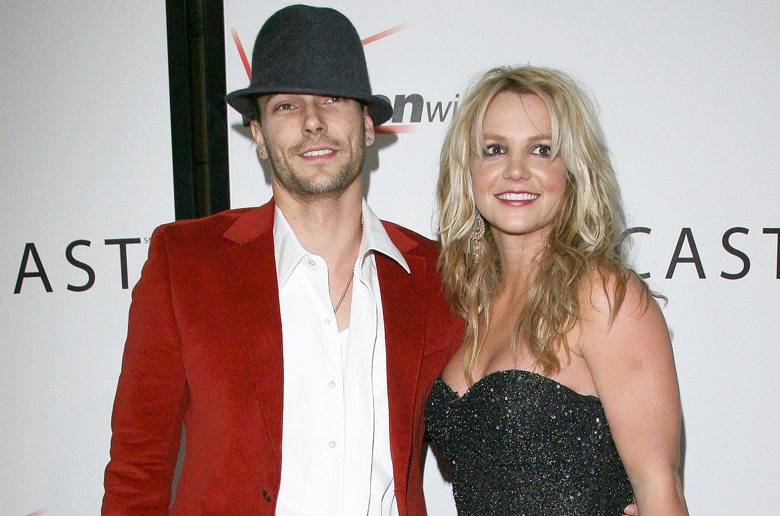 Kevin Federline and Britney Spears before their split