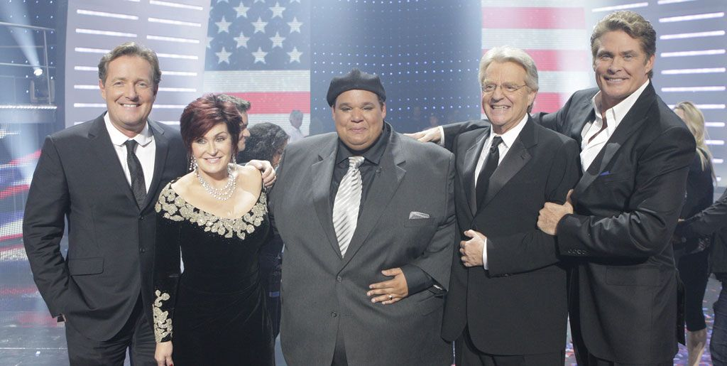 Neal Boyd and the 'America's Got Talent' judges