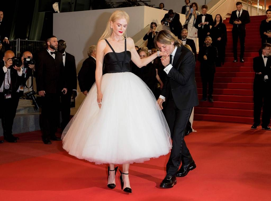 Nicole Kidman and Keith Urban on the red carpet