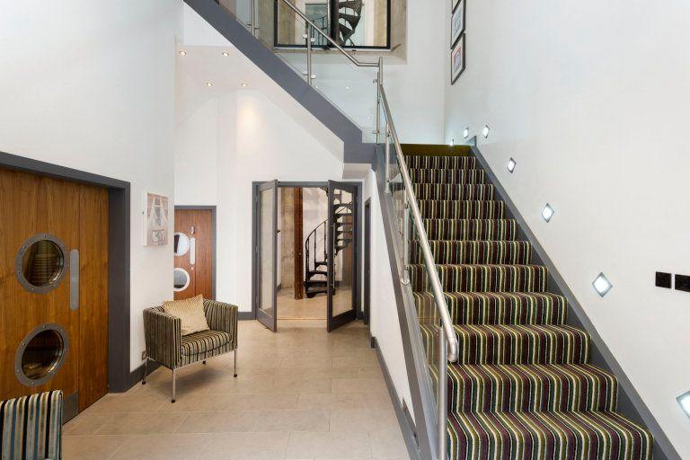 A staircase