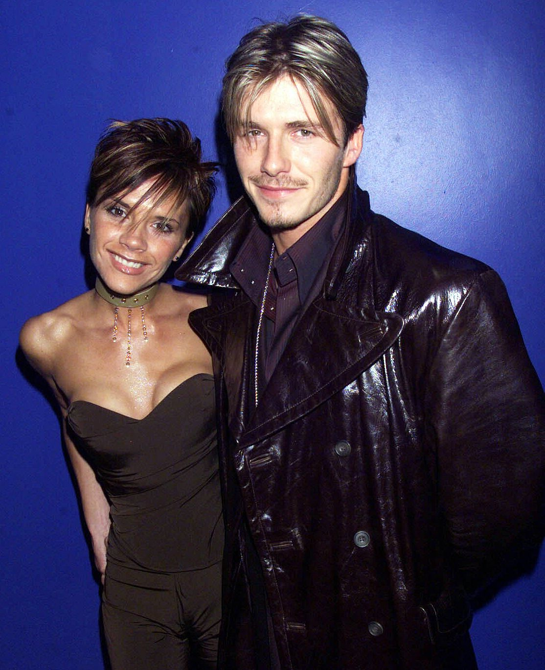 A young Victoria and David Beckham