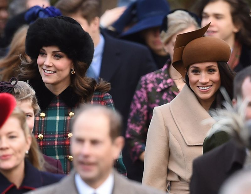 Meghan and Kate hats