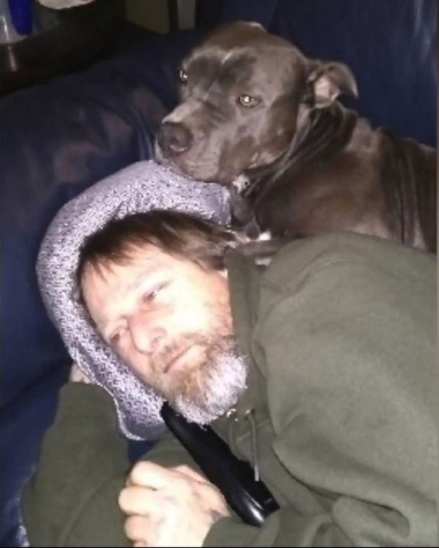 Greg and his dog