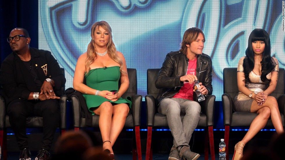 The judges of American Idol