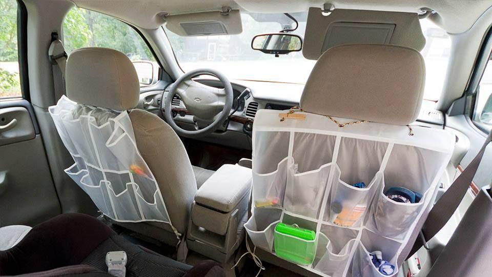 Shoe organizer car seat