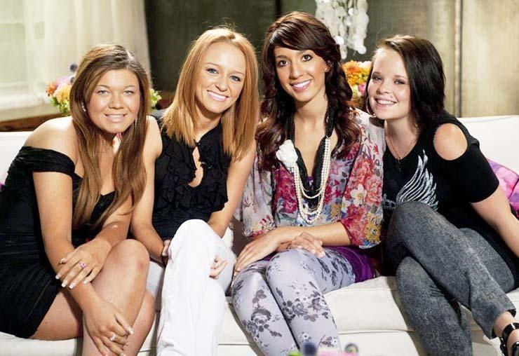 The cast of Teen Mom OG