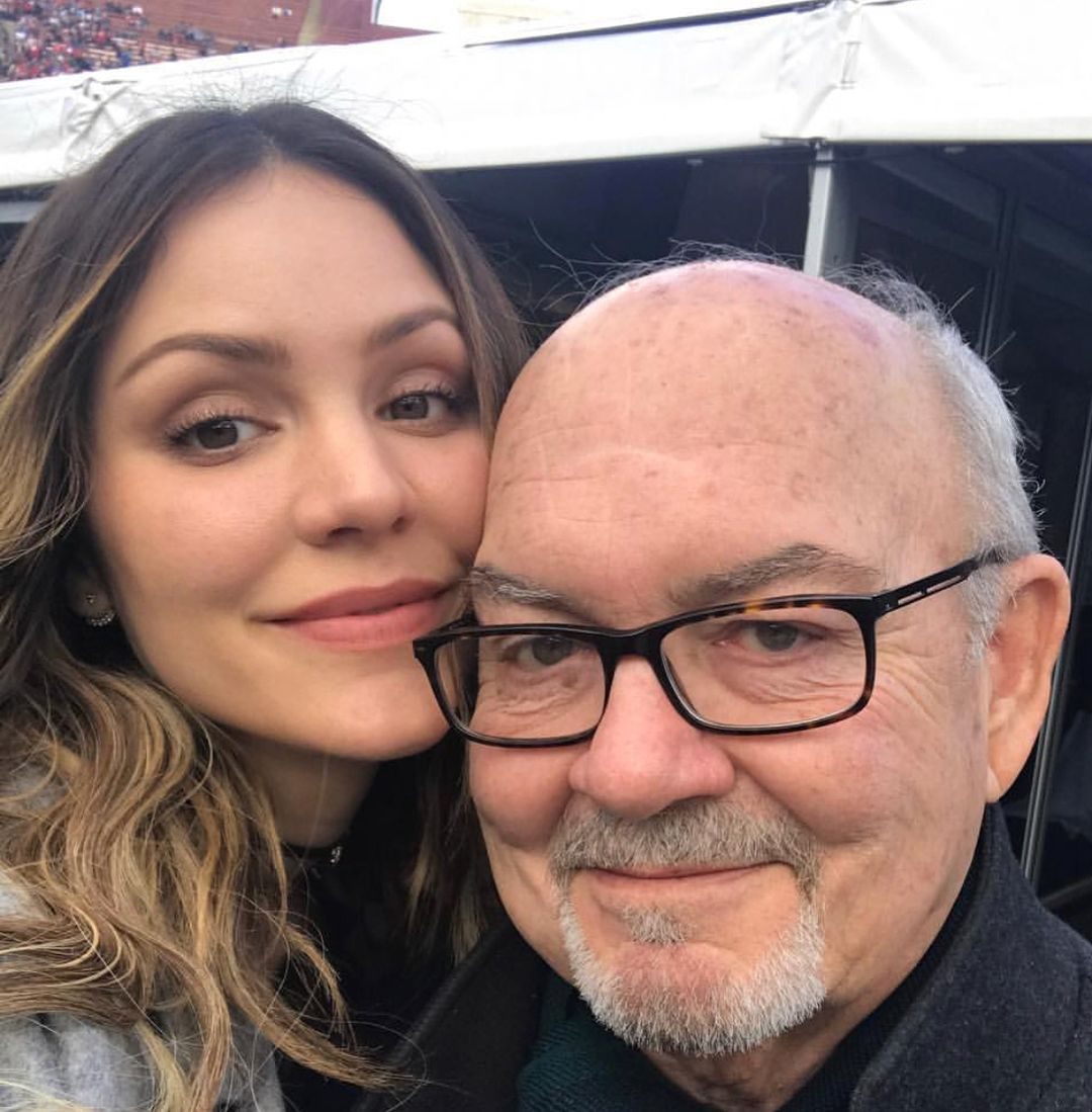 Katharine McPhee and her dad