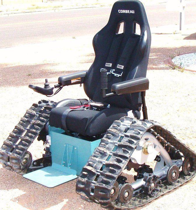 A tankchair