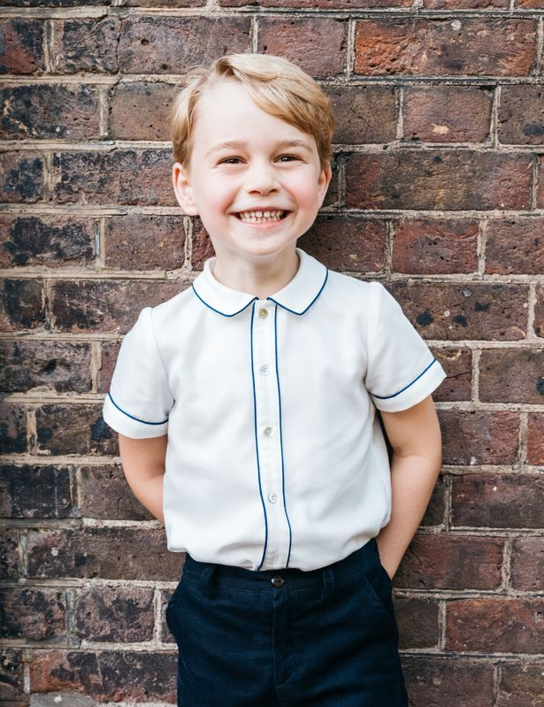 Prince George royal portrait
