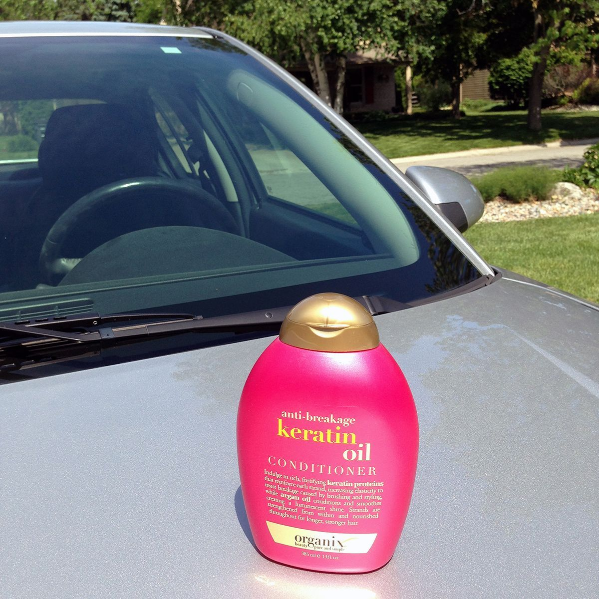 Conditioner on car