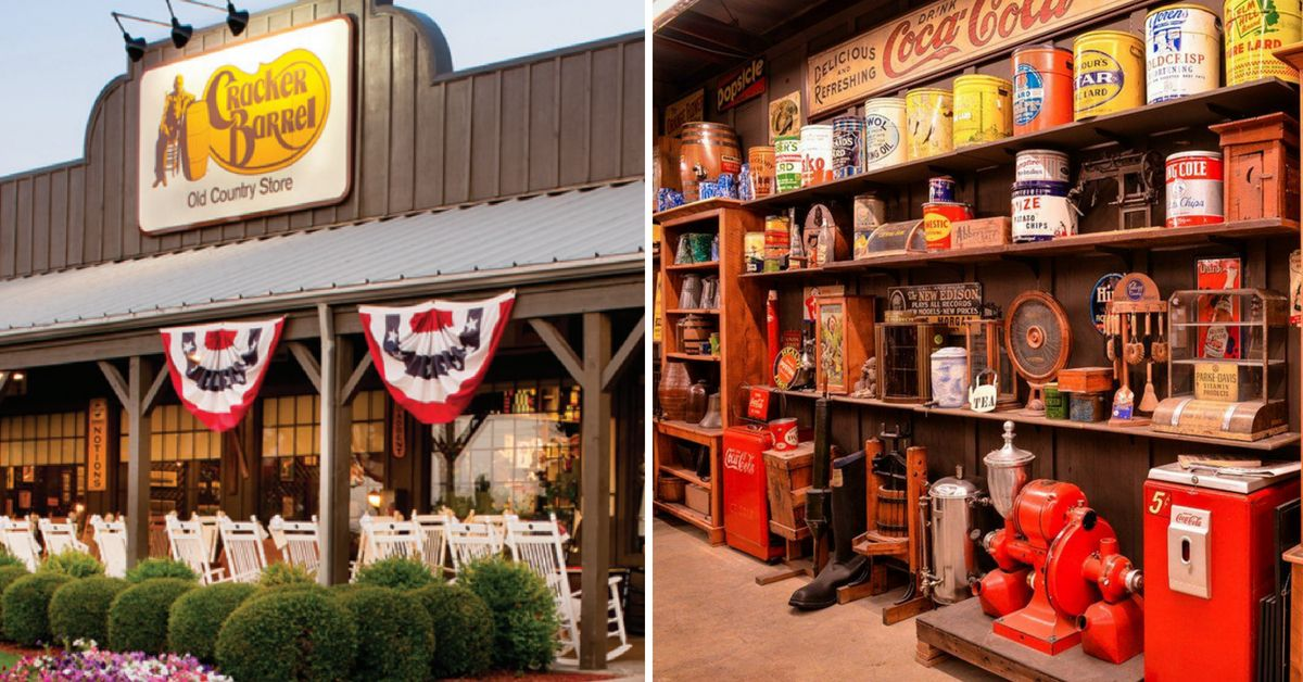 Cracker Barrel Has A Huge Antique Warehouse And You Can