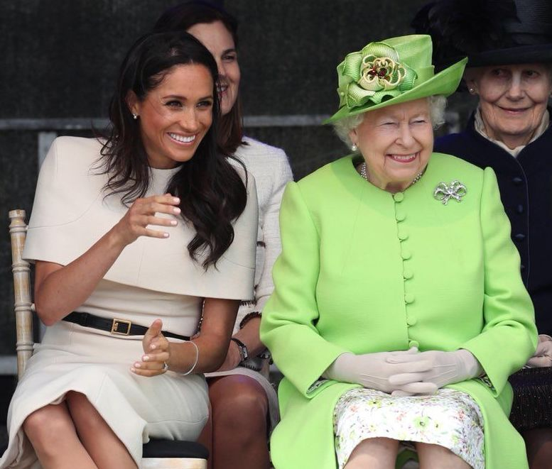 Meghan and Queen