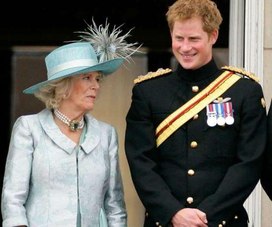 Prince Harry Camilla