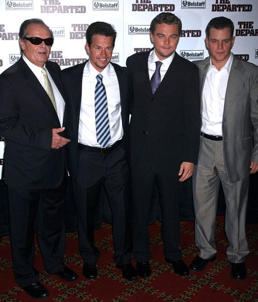The cast of The Departed