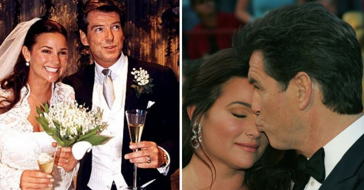 Pierce Brosnan Sends His Wife The Sweetest Message To Mark Their 25th Anniversary