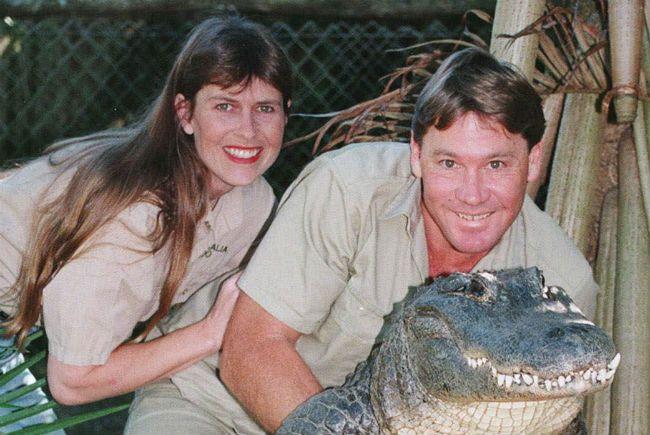 Steve Irwin Terri Irwin