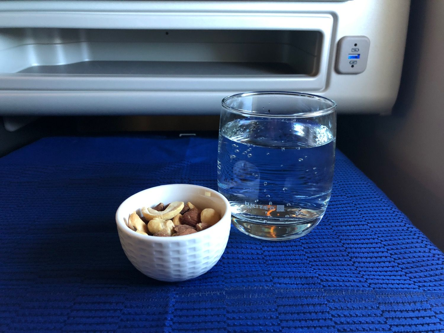 Airplane water