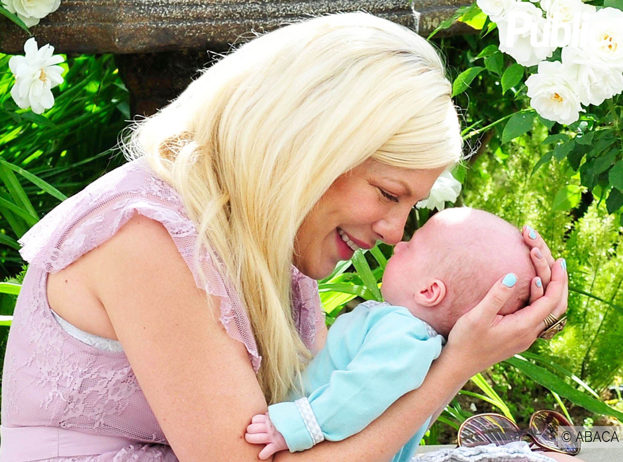 Tori Spelling Claims Son Was