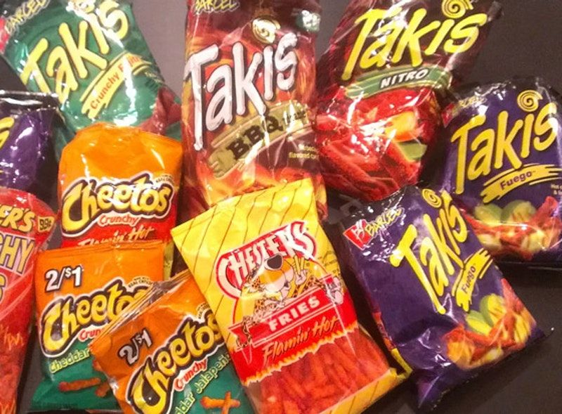 Cheetos and Takis chips