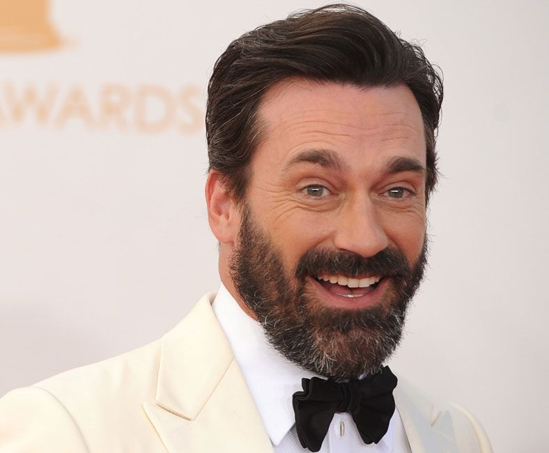 Jon Hamm with a full beard
