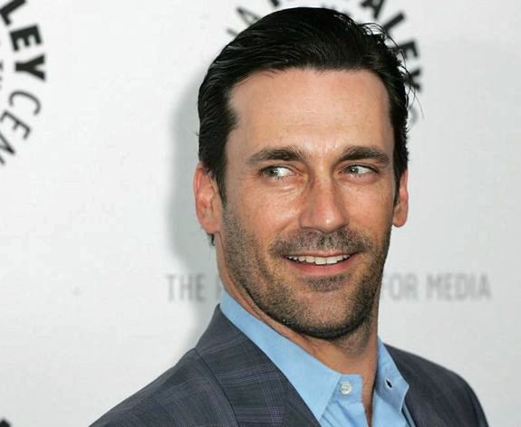 Jon Hamm with heavy Stubble