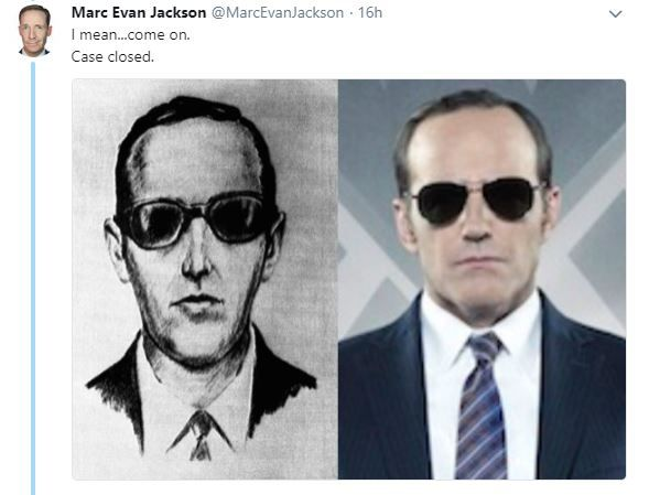 Mark Evan jackson tweet