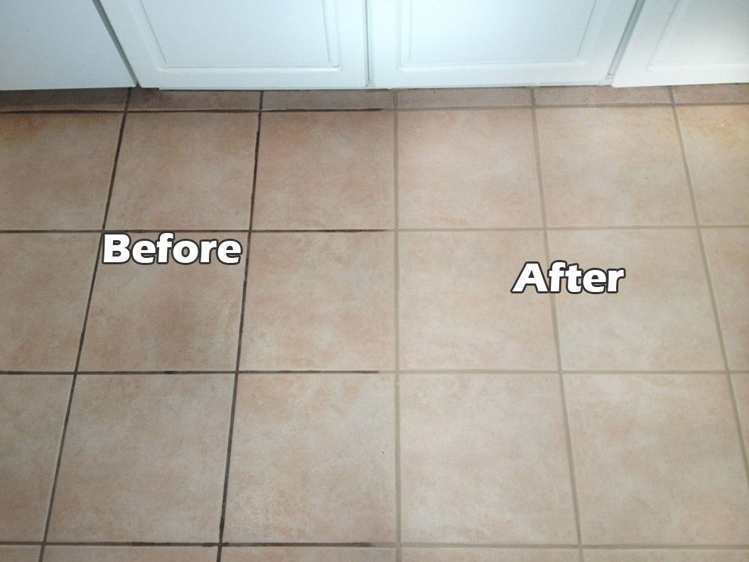 Grout Between Floor Tiles