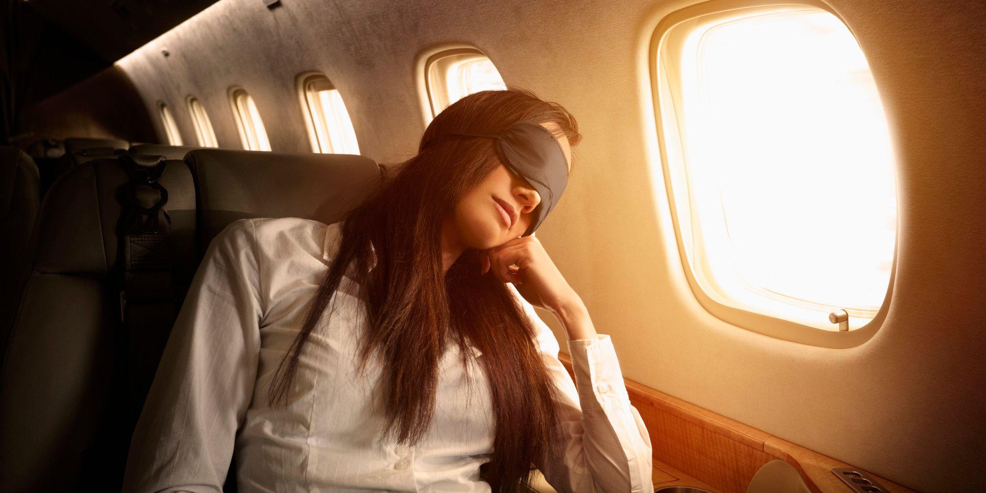 Airplane Sleep