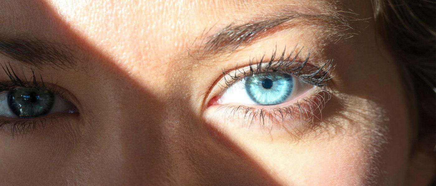 Sun in eyes