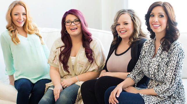 "The cast of ""Teen Mom"""
