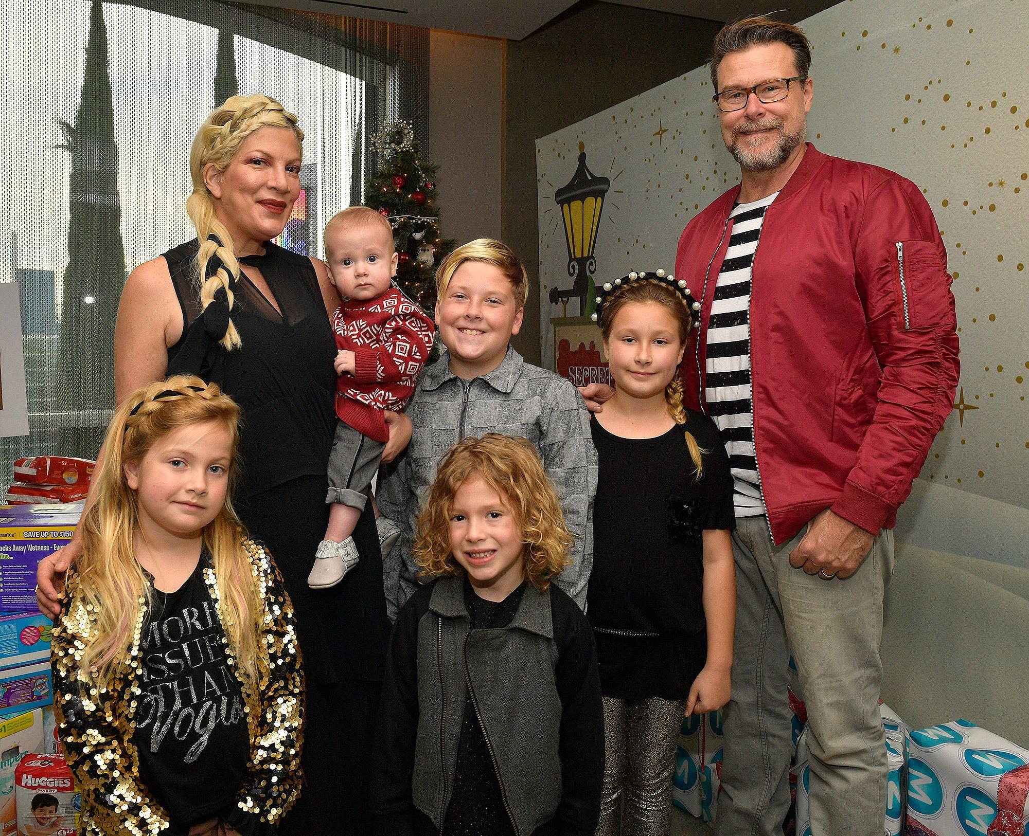 Tori, Dean and their children