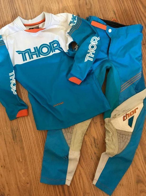 Elisabeth's son's baby clothes