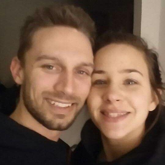 Kayla and Jonathan Roussin