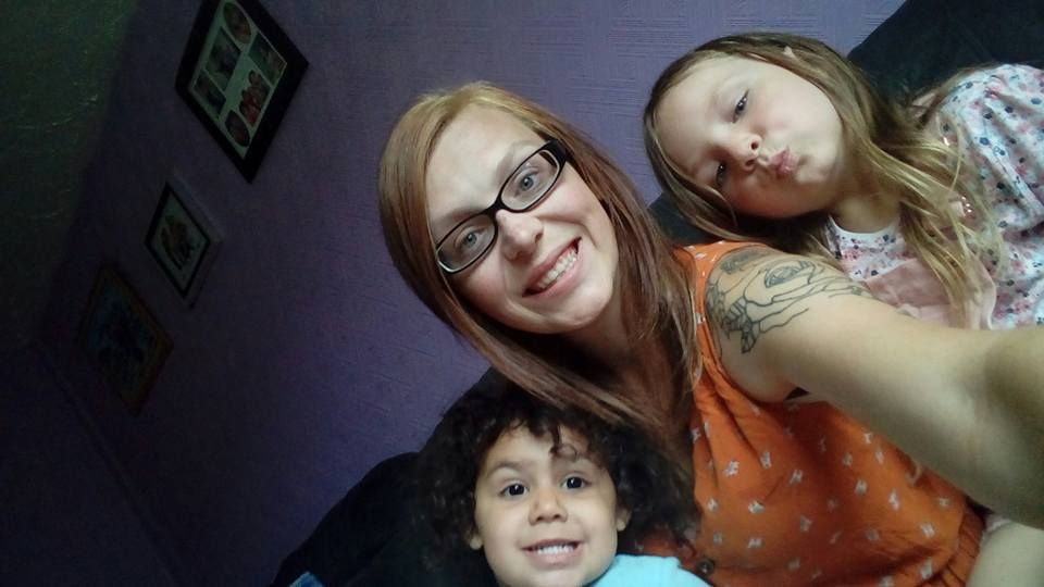 Jodie and two of her three children