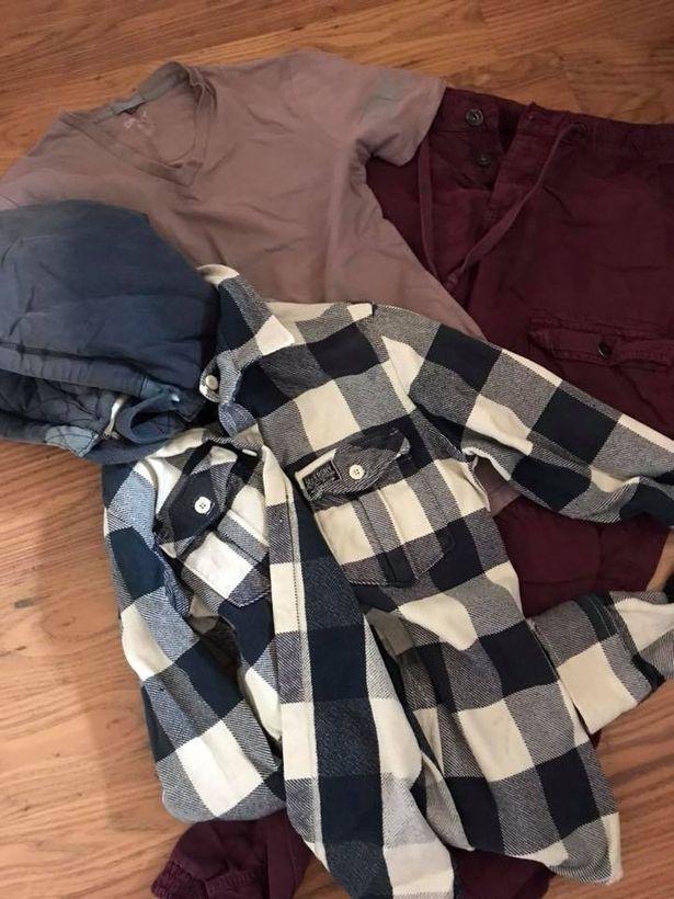 Scott's clothes