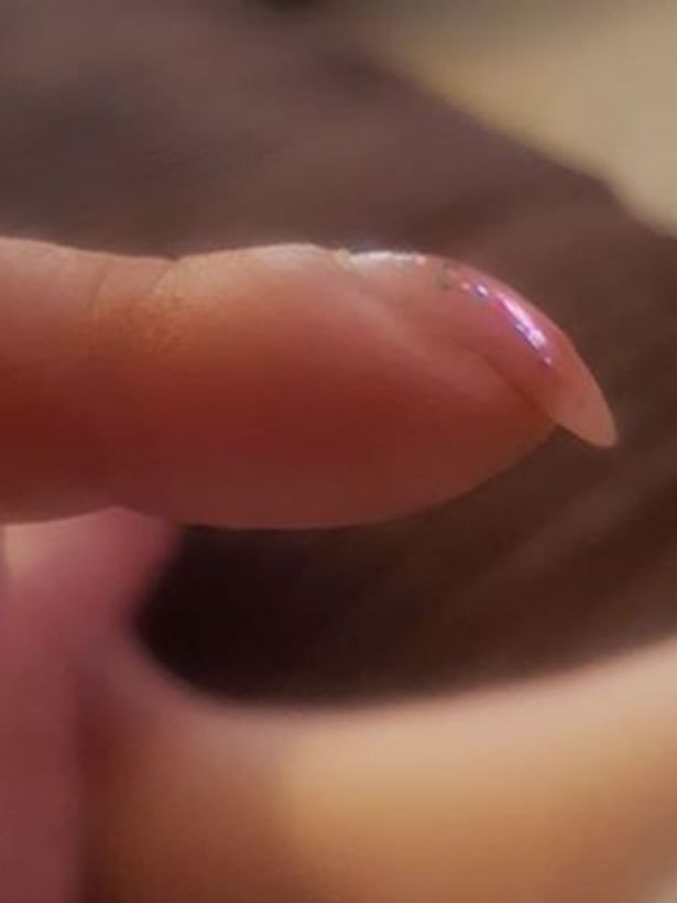 Jean William Taylor's nail