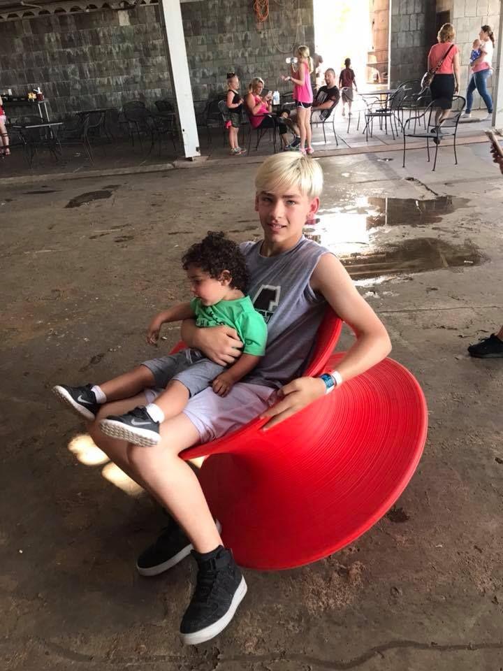 Elijah and his sister