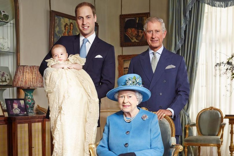 Four generations of royals