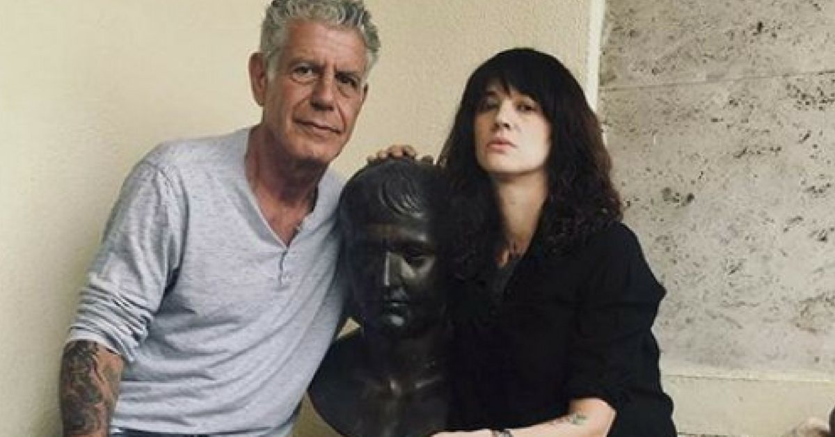 ce9ce6710a9d Anthony Bourdain s Girlfriend Asia Argento Accused Of Sexually Assaulting A  Minor
